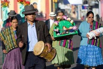 Ceremonia La Paach, Guatemala   Foto: UNESCO/E. Sacayon