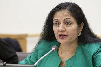 妇女署副执行主任普里。联合国图片/JC McIlwaine