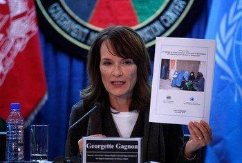 UNAMA Director of Human Rights Georgette Gagnon.
