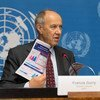 المدير العام للويبو فرانسس غري في إطلاق التقرير السنوي من المنظمة العالمية للملكية الفكرية