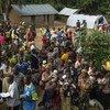 Des réfugiés centrafricains en République démocratique du Congo (RDC).