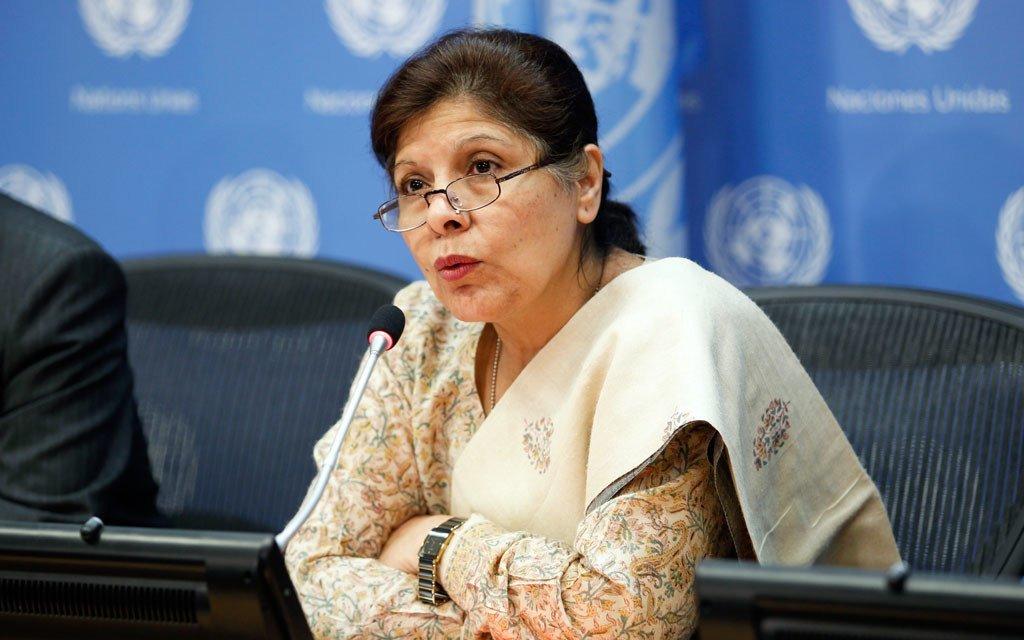 Assistant Secretary-General for Economic Development Shamshad Akhtar.