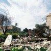 Une maison palestinienne de Cisjordanie démolie par les forces isaréliennes.