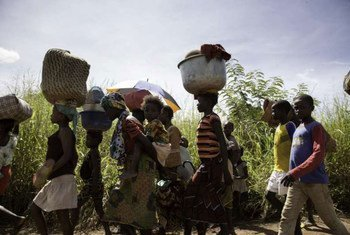 Le conflit en République centrafricaine (RCA) a provoqué le déplacement de centaines de milliers de personnes à l'intérieur du pays.