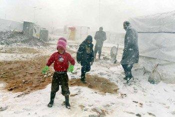 Refugiados sirios en Líbano (Foto: ACNUR-A. McConnell)