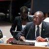 Babacar Gaye, Representante Especial del Secretario General y jefe de  la BINUCA Foto Archivo:JC McIlwaine