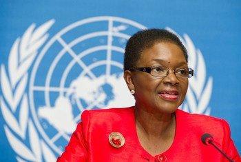 La Secrétaire générale adjointe des Nations Unies aux affaires humanitaires, Valerie Amos.