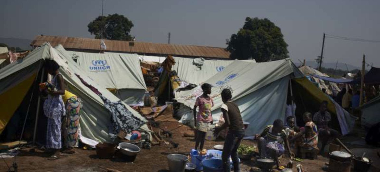 Desplazados en Bangui (Foto: ACNUR-S. Phelps)