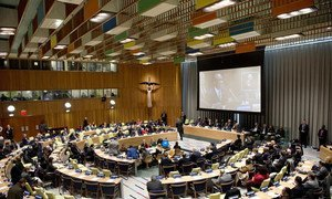 General Assembly pays tribute to the life and memory of Nelson Mandela.