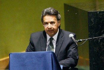 Lenín Moreno Garcés.