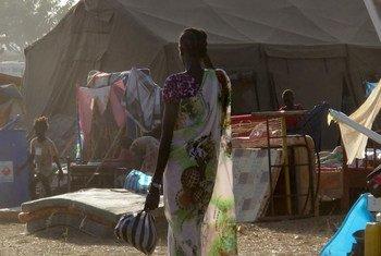 Des civils se réfugient dans les locaux de la MINUSS à Juba, la capitale du Soudan du Sud. Photp: MINUSS/Shantal Persaud