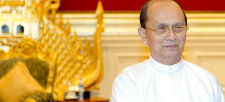 Thein Sein, President of the Union of Myanmar.