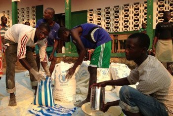 WFP has provided food assistance to more than 500,000 displaced people across the Central African Republic (CAR).