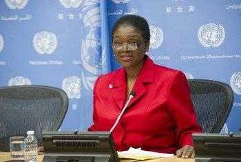 La Coordinadora de la ONU para Asuntos Humanitarios, Valerie Amos  Foto archivo: ONU/Evan Schneide