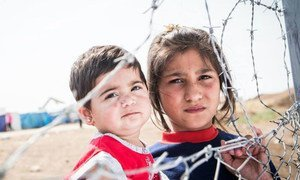 An entire generation is in grave danger. The <a href=https://twitter.com/search?q=%23ChildrenofSyria>#childrenofsyria</a> are watching their futures slip away. They desperately want and need to go to school. To be protected. To be comforted.