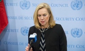 Special Coordinator of the OPCW-UN Joint Mission on eliminating Syria's chemical weapons programme Sigrid Kaag.