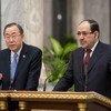 Ban Ki-moon y Nouri Kamel al-Maliki Foto de archivo: ONU/Eskinder Debebe