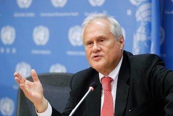 Martin Sajdik, Président du Conseil économique et social (ECOSOC). Photo ONU/Paulo Filgueiras