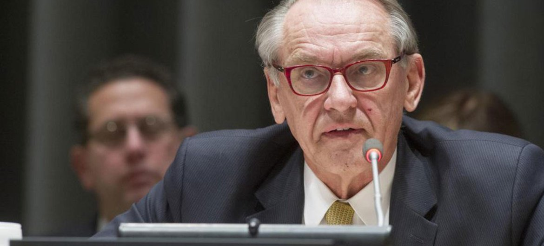 Le Vice Secrétaire général Jan Eliasson. Photo ONU/Evan Schneider