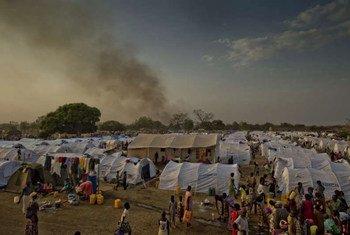 Refugiados de Sudán del Sur en el norte de Uganda