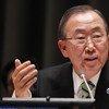 Secretario General de la ONU, Ban Ki-moon  Foto archivo: