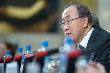 Le Secrétaire général Ban Ki-moon (photo archives). Photo ONU/Jean-Marc Ferré