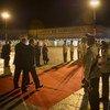 El Secretario General, Ban Ki-moon, llega a Cuba para asistir a la II Cumbre de la CELAC