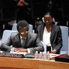 El representante del Secretario General en Burundi y jefe de la BNUB, Parfait Onanga-Anyanga   Foto archivo: ONU/Paulo Filgueiras