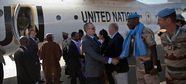 Visita de la delegación del Consejo de Seguridad a Mali  Foto MINUSMA/Marco Dormino