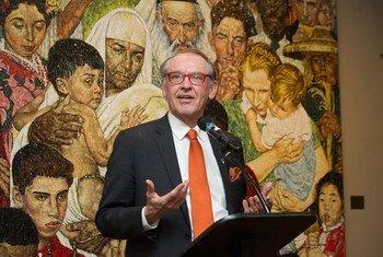 联合国常务秘书长埃利亚松资料图片/Evan Schneider