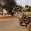 Tropas francesas en Bangui, República Centroafricana  Foto: IRIN/Nicholas Long