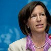联合国主管全球传播事务的新任副秘书长梅丽莎·弗莱明。