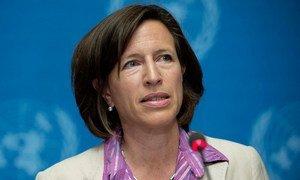 UNHCR spokesperson Melissa Fleming.