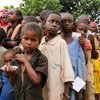 In the Central African Republic, these children are some of hundreds of thousands displaced and in need of urgent food assistance.