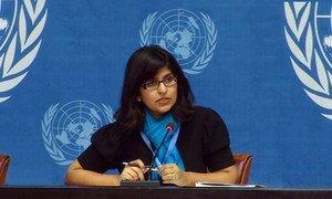 OHCHR spokesperson Ravina Shamdasani.