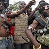 Milicias anti-Balaka en Bangui, República Centroafricana  Foto: IRIN/Till Muellenmeister