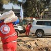 Distribución de ayuda en Homs, Siria  Foto: SARC Homs