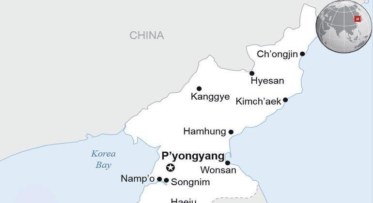 Corea del Norte realizó nuevos ensayos balísticos el 19 y el 21 de marzo pasados. Foto: OCHA/ReliefWeb