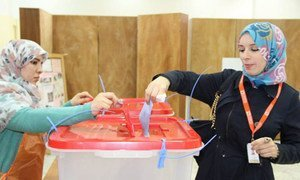 Libyans voting on 20 February 2014 to select a 60-member assembly that will draft a new Constitution.