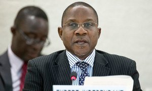 Independent Expert on the situation of human rights in Sudan Mashood Adebayo Baderin.