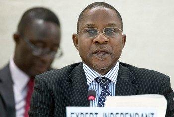 El experto independiente de la ONU sobre los derechos humanos en Sudán, Mashood A. Baderin  Foto: Jean-Marc Ferré