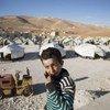 Refugiados sirios en Líbano