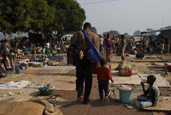 Bangui, capital de la República Centroafricana  Foto:ACNUR/S. Phelps