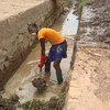 In the Central African Republic, where the on-going fighting has destroyed infrastructure, UNDP will fix water reservoirs, bridges and clinics through a new emergency work scheme.