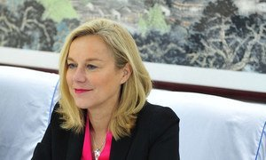 Special Coordinator of the OPCW-UN Joint Mission on Syria Sigrid Kaag.