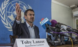 Humanitarian Coordinator in South Sudan Toby Lanzer.
