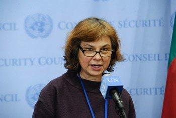 La embajadora de Lituania, Raimonda Murmokaité  Foto: