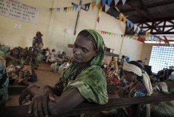Desplazados en la República Centroafricana