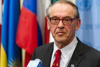 Le Vice-Secrétaire général des Nations Unies, Jan Eliasson, (archives). ONU/Mark Garten