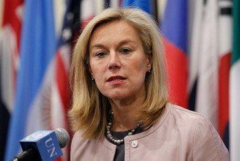La coordinadora especial de la ONU para el Líbano, Sigrid Kaag  Foto archivo: ONU